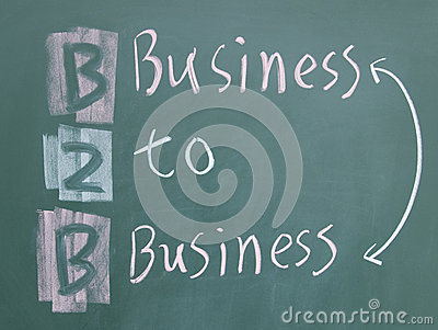 Business to business sign