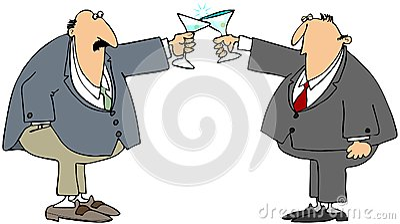 Business toast