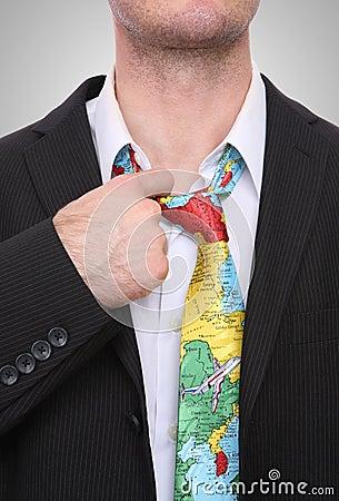 Business Travel Stress Man