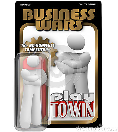Business Wars Action Figure Dedicated Employee