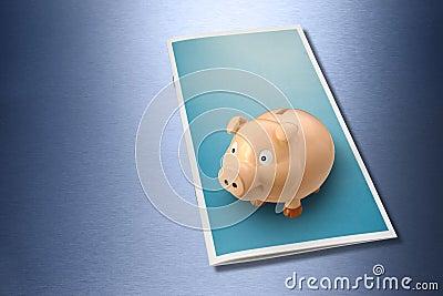Business Wealth Brochure Piggybank