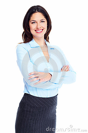 Free Business Woman. Royalty Free Stock Images - 32541969