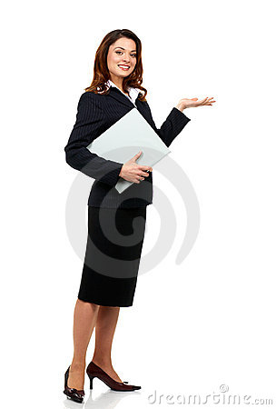 Free Business Woman Royalty Free Stock Photography - 3921487