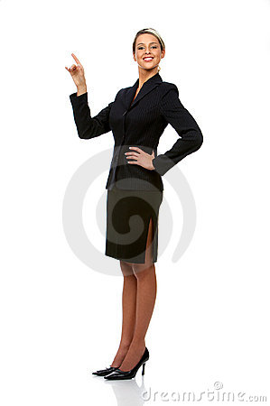 Free Business Woman Royalty Free Stock Photos - 4614208