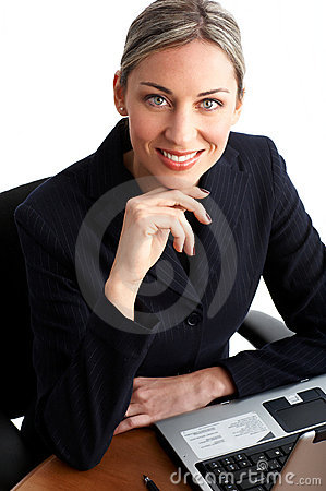 Free Business Woman Royalty Free Stock Image - 4663386