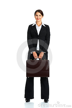 Free Business Woman Royalty Free Stock Image - 5388406