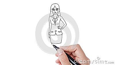 2 business woman arkivfilmer
