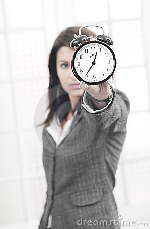 Free Business Woman Being Stressed By Time Stock Photo - 22345060
