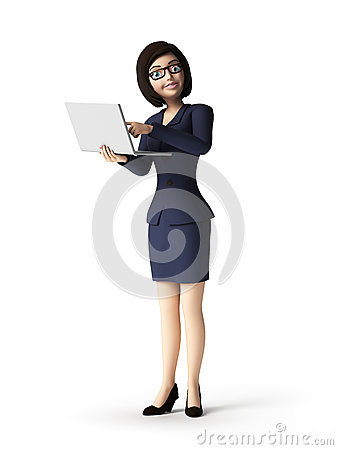 Free Business Woman - Character Stock Photography - 30728112