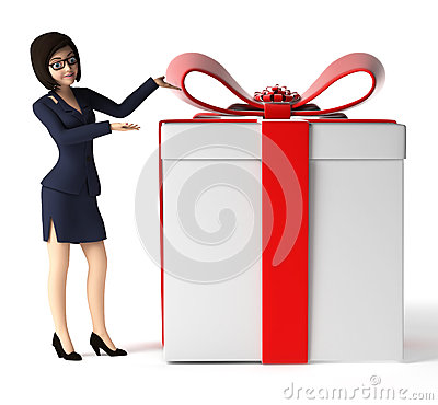 Free Business Woman - Character Stock Photo - 30728120