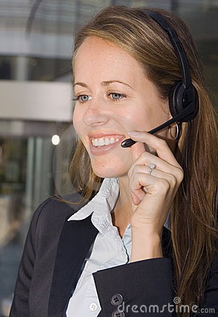 Business Woman - Contact Us