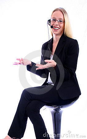 Free Business Woman - Corporate Spoksewoman Stock Images - 681164