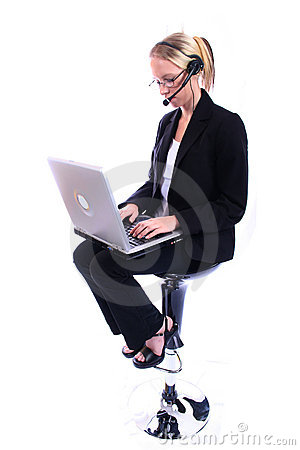 Free Business Woman - Corporate Spoksewoman Royalty Free Stock Photos - 681168