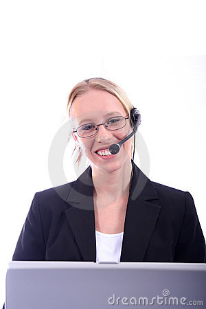 Free Business Woman - Corporate Spoksewoman Stock Photo - 681170