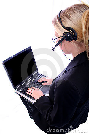 Free Business Woman - Corporate Spoksewoman Royalty Free Stock Photography - 681177