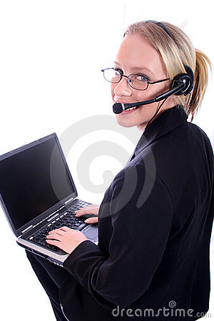 Free Business Woman - Corporate Spoksewoman Stock Photography - 681182