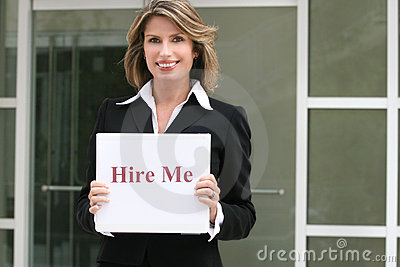 Business Woman: Employment, For Hire