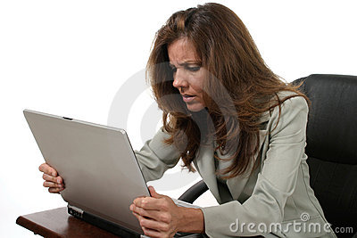 Business Woman Frustrated 4