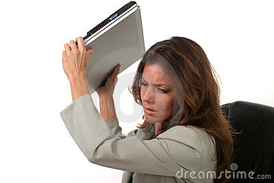 Business Woman Frustrated 8