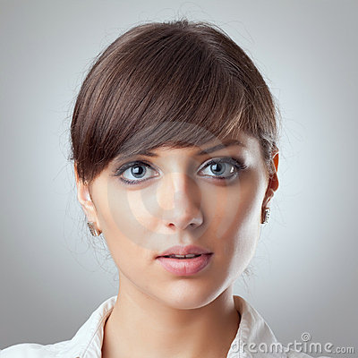 Free Business Woman S Face Royalty Free Stock Image - 15824416