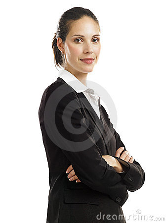 Free Business Woman With Black Suit 2 Stock Images - 16807654
