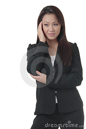 Free Business Woman With Hand On Head Stock Images - 657634