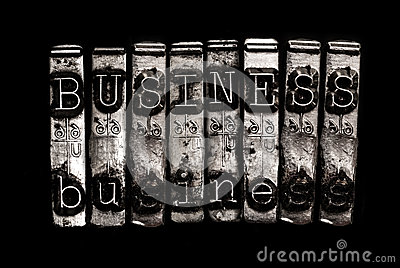 Business word concept