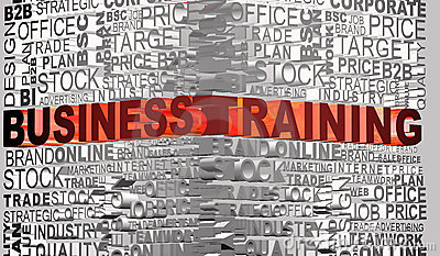 Business words related with word Trainning