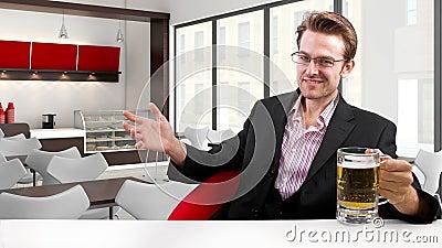 Businessman on Break