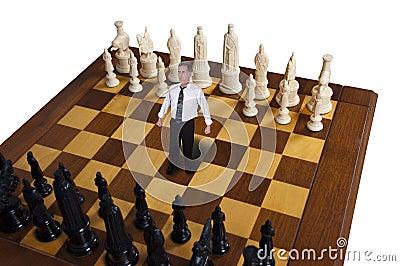 Businessman, Business Strategy, Marketing, Chess