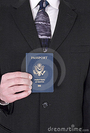 Businessman, Business Travel, Passport, Traveler