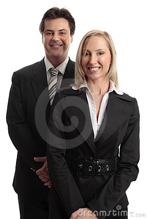 Businessman  Businesswoman