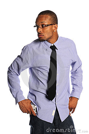 Businessman In Casual Clothing