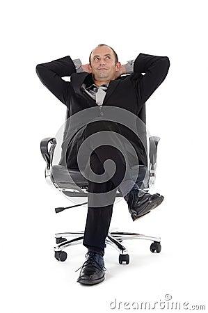 Businessman chair