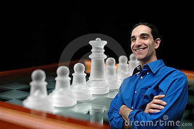 Businessman and chess-1