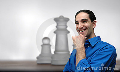 Businessman and chess-4
