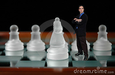 Businessman and chess-6