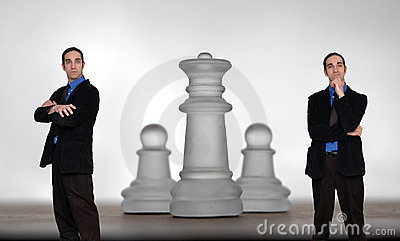Businessman and chess-8