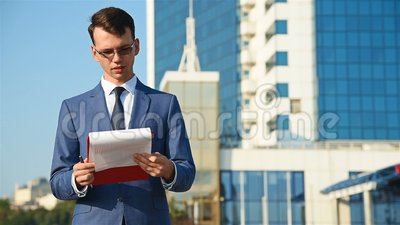 businessman clipboard holding information isolated taken white φιλμ μικρού μήκους