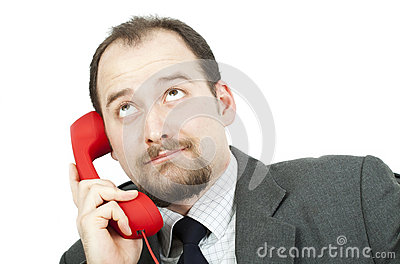 Businessman-communication