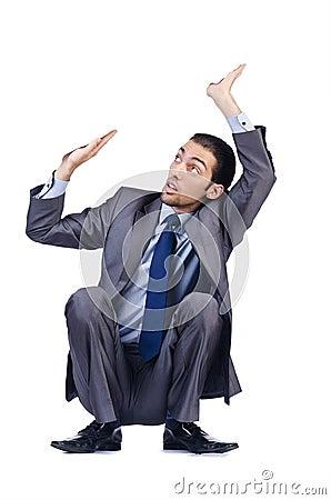 Businessman - conceptual photo