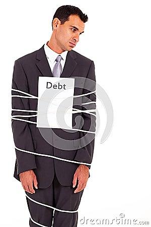 Businessman debt