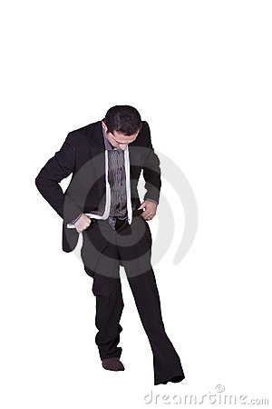 Free Businessman Dressing Up Stock Photography - 12659512