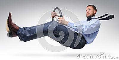 Businessman driver