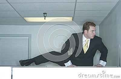 Businessman escapes