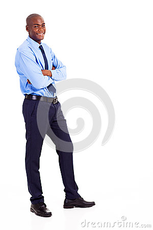 Businessman full body