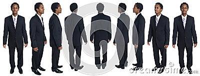 Businessman - full rotation