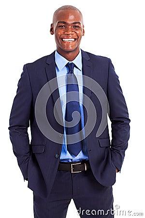 Businessman half length