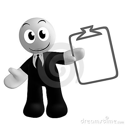 Businessman icon with schedule task symbol