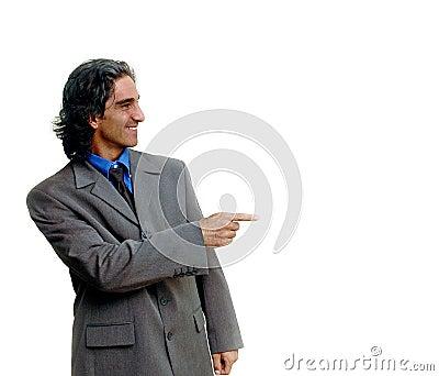 Businessman isolated-2